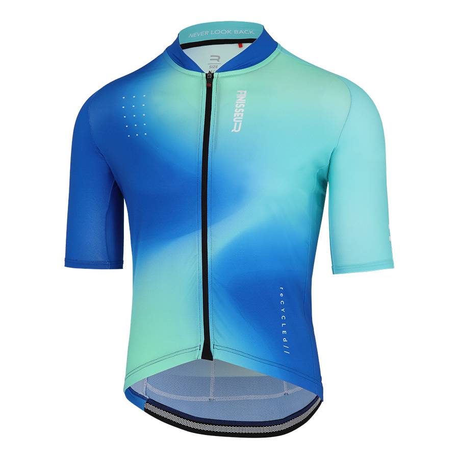 Maillot Finisseur Core Recycled Breeze azul